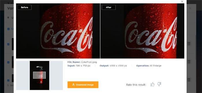 Coke Product Vance