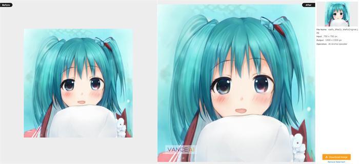 Vance AI Anime Upscaler Download